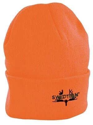 orange jaktmössa från Swedteam