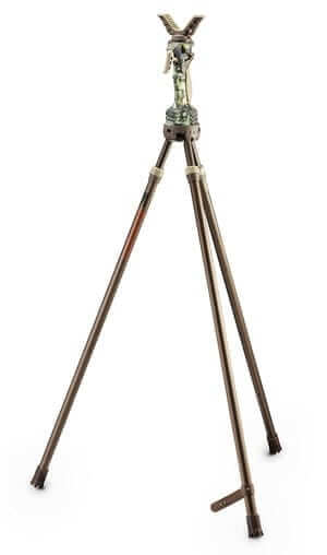 benstöd med tre ben för att förstärka din stabilitet i olika jakt, sikte och kamera situationer