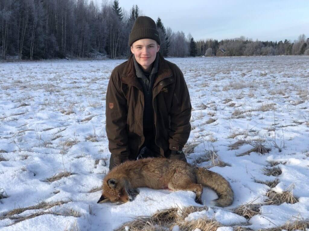 Erik med räven
