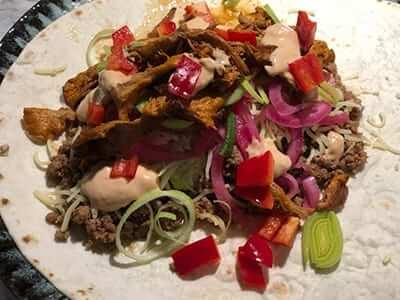 tacos på viltfärs